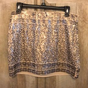Never worn sequence stretch skirt
